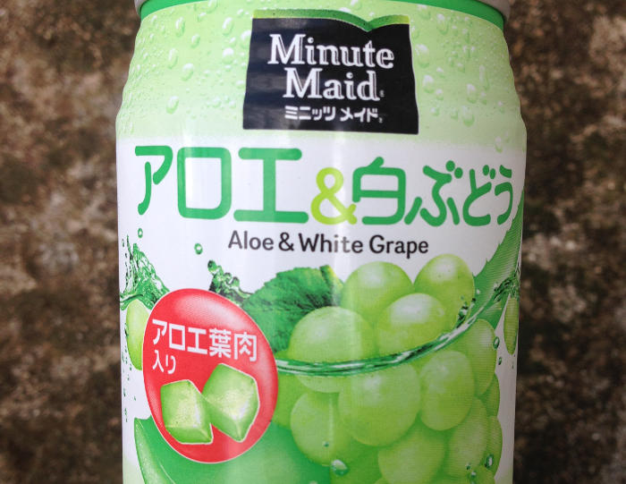 Aloe & White grape drink